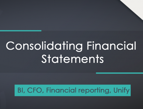 Consolidating Financial Statements