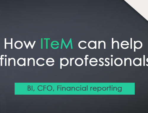 How ITeM can help finance professionals