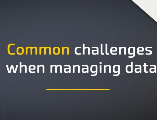 Common challenges when managing data